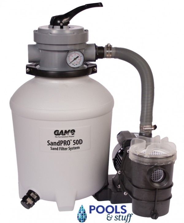 SandPro™ 50D Filter and 1/2 HP Pump