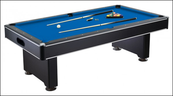 Hustler pool table