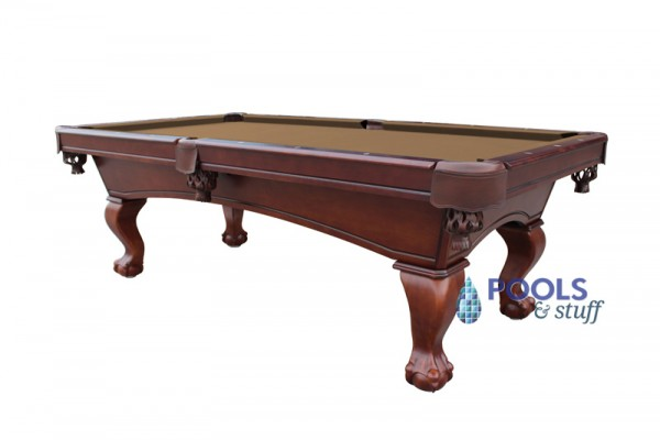 Westport 8' Antique Walnut Slate Pool Table With Camel Felt