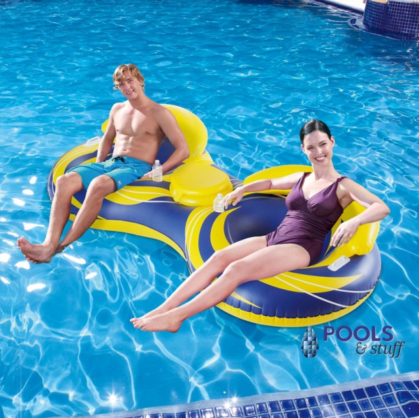 2-Person Inflatable Cooler Tube