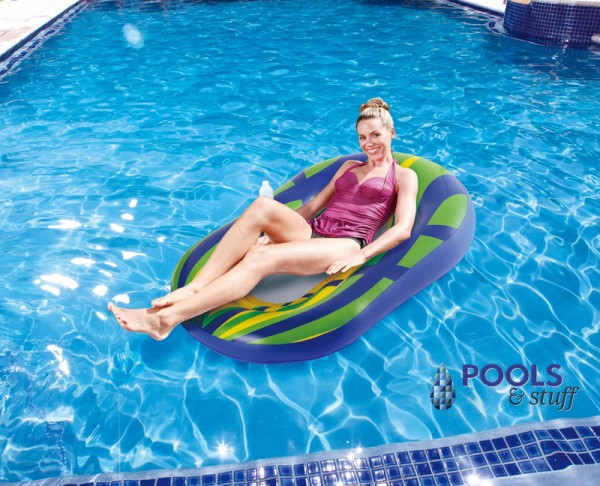 Mean Green 60-in Mesh Pool Lounger