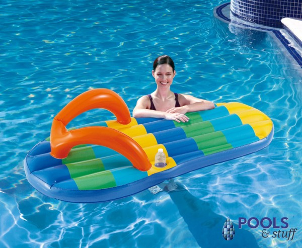 Flip Flop Float - Beach Striped