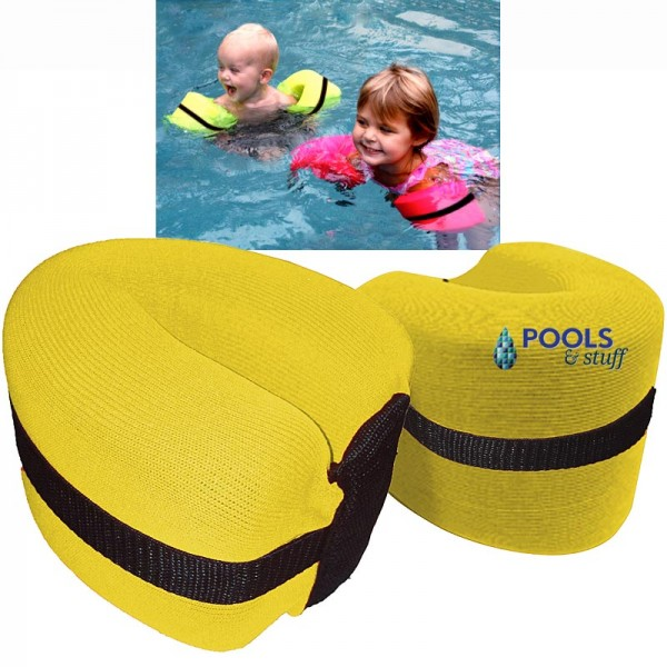 Foamy Floatie Arm Bands - Yellow