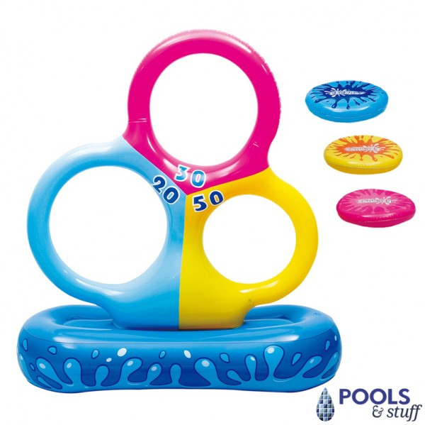 Disc Toss Pool Game