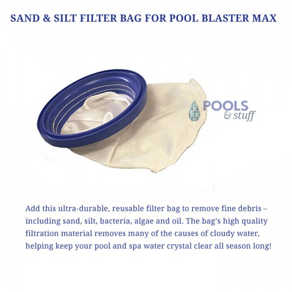 Pool Blaster Max - Optional Sand & Filter Bag