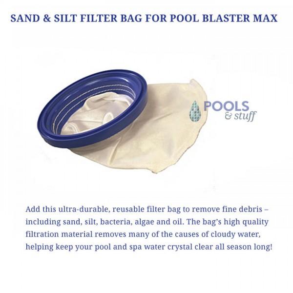 Pool Blaster Max - Optional Sand & Filter Bag