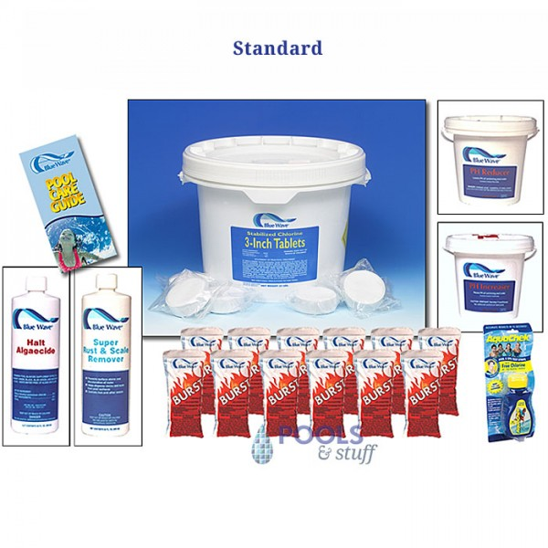 Pool Chemical Season's Supply - Standard