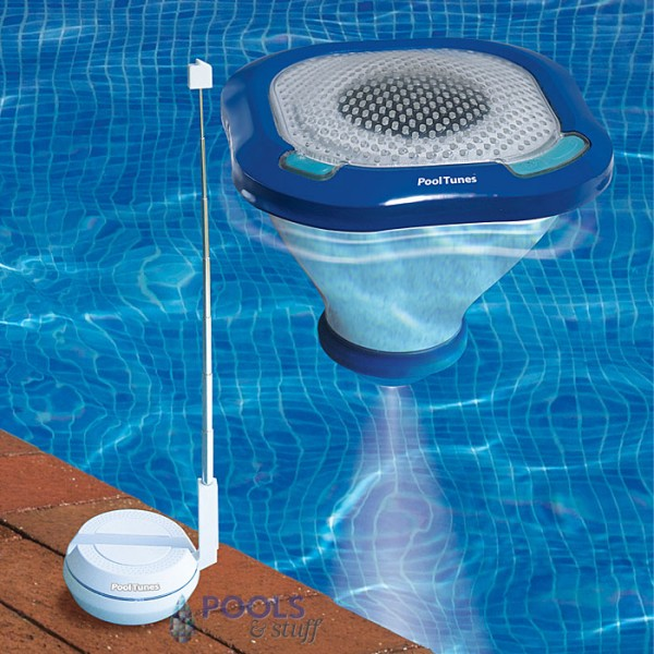 PoolTunes™ Wireless Speaker and Swimming Pool Light