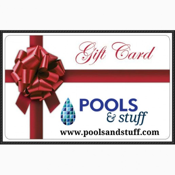 Pools And Stuff Gift Card