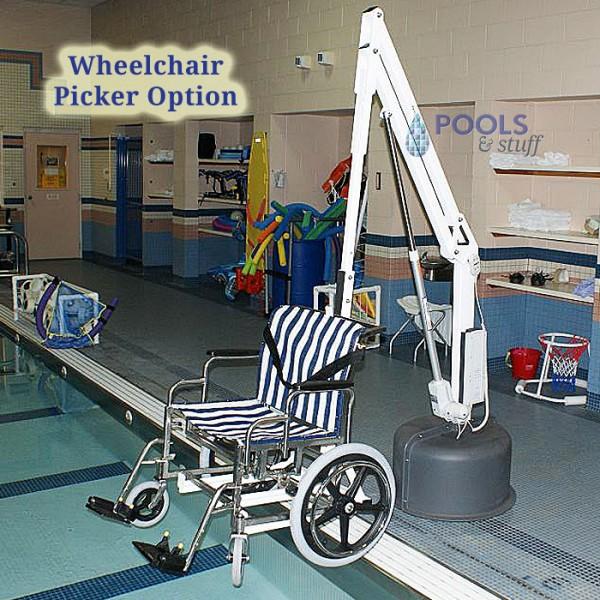 Wheel Chair Attachment Option, Revolution ADA Compliant Pool & Spa Lift