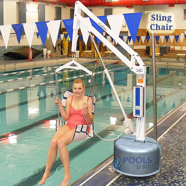 Sling Chair Option, Revolution ADA Compliant Pool & Spa Lift