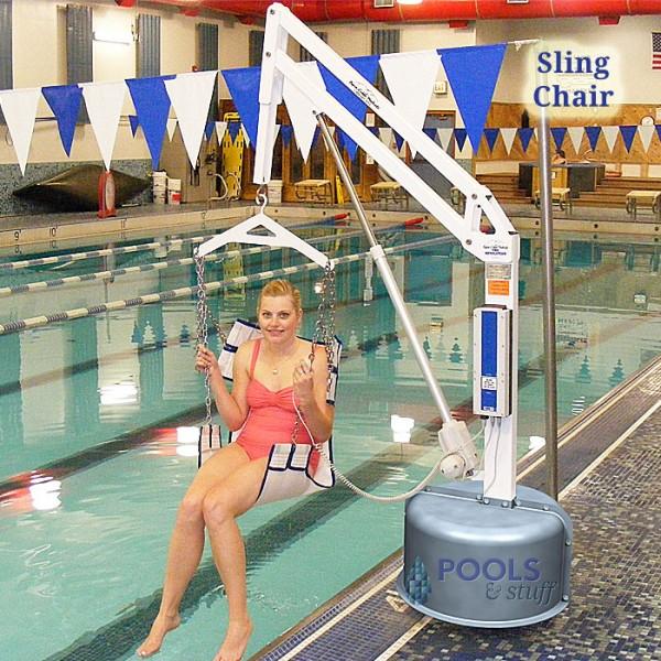 Sling Chair Option, Revolution ADA Compliant Pool & Spa Lift