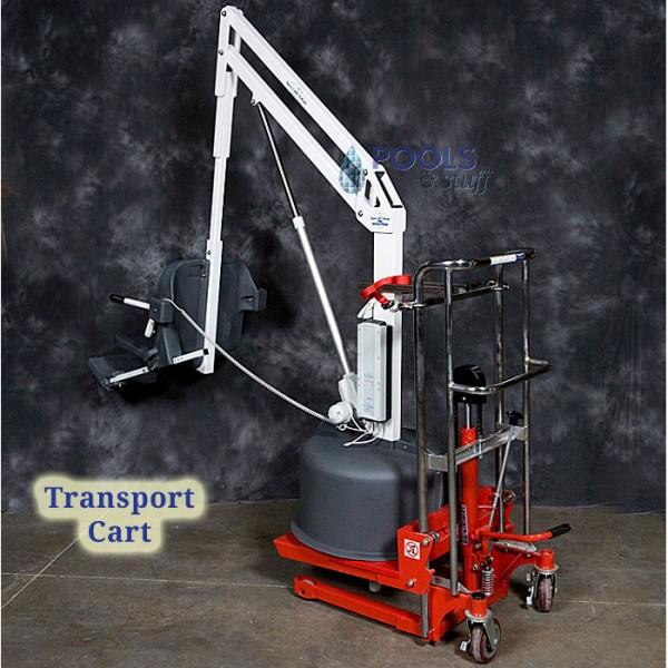 Transport Cart Option, Revolution ADA Compliant Pool & Spa Lift