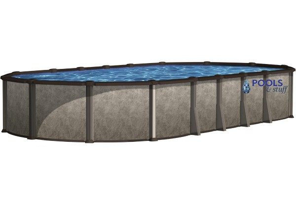 "RIVIERA™ - 12' x 24' Oval, 54"" Deep Above-Ground Pool"