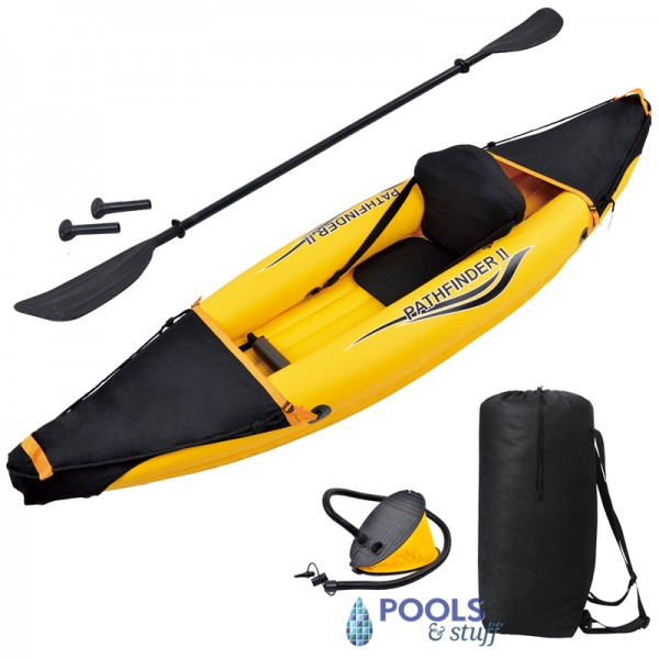 Nomad 1 Person Inflatable Kayak Kit