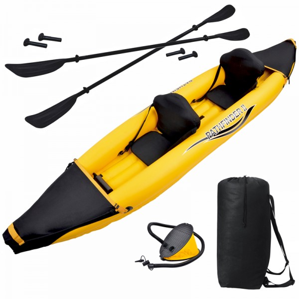 Nomad 2 Person Inflatable Kayak Package