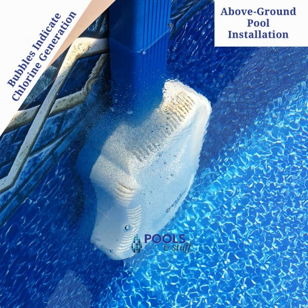 SALTRON® Retro Saltwater Pool Chlorine Generator - Above-Ground Pool