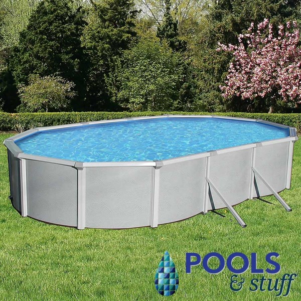 "Samoan - 18' x 33' Oval, 52"" Deep Above-Ground Pool"