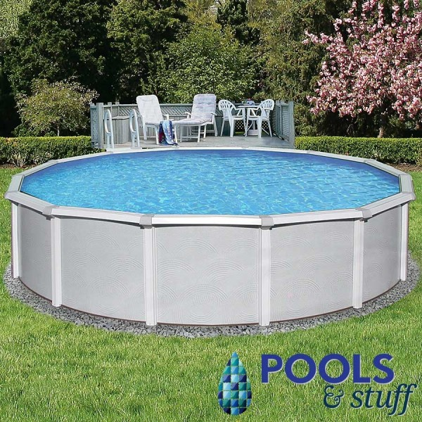"Samoan - 15' Round, 52"" Deep Above-Ground Pool"