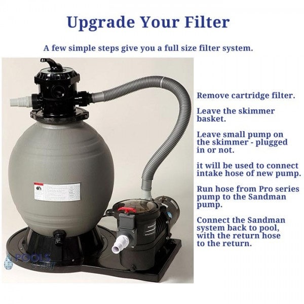 Want a bigger filter? Get an easy upgrade.