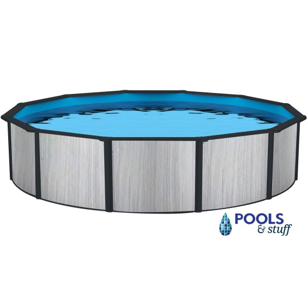 "Savannah - 33' Round, 52"" Deep Above-Ground Pool"