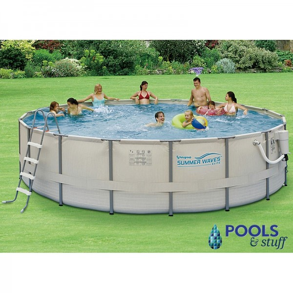 Round - Soft-Sided Above-Ground Pool Kits
