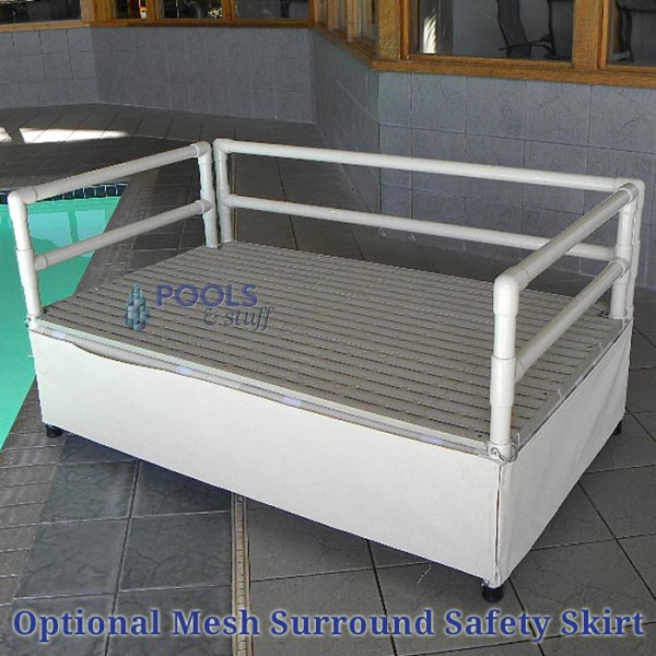 Optional Mesh Surround Safety Skirt (Standard model Only)