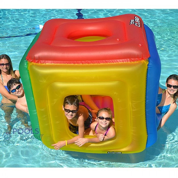 The Cube Fort Pool Float