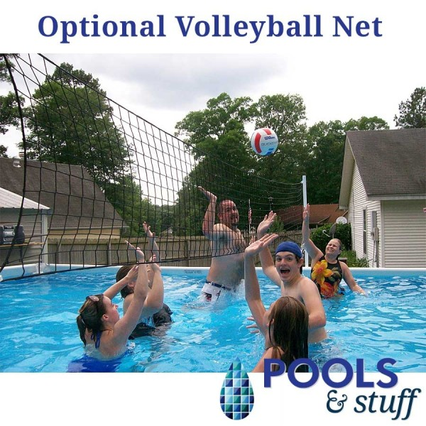 Soft Side Pool Volleyball Net Package