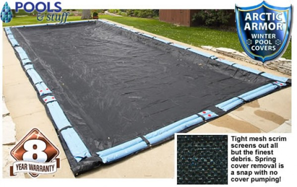 Arctic Armor Rugged Mesh Winter Cover (8 Year Warranty)