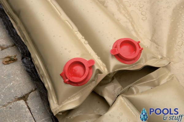 Rugged Tan Dual Water Tubes Extra heavy duty tan double water bags.