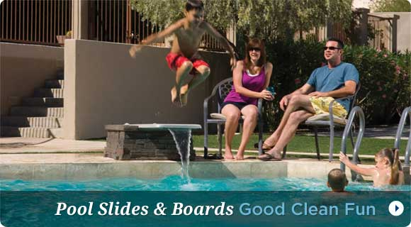 Pool Boards and Slides