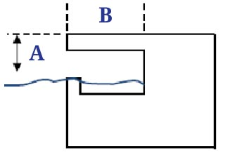 Fully Recessed Pool Edge Profile