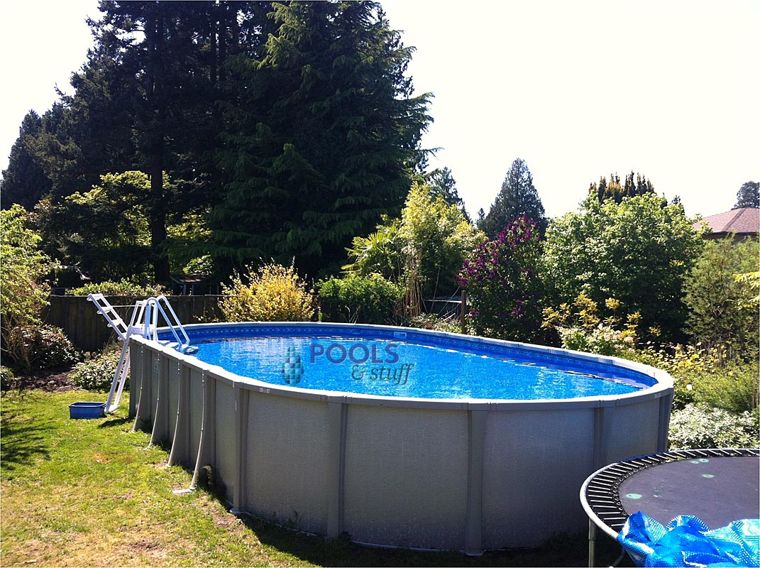 100 above ground swimming pools for inground swimming for Above ground pools