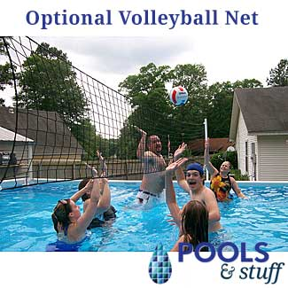 Soft Side Pool Volleyball Net